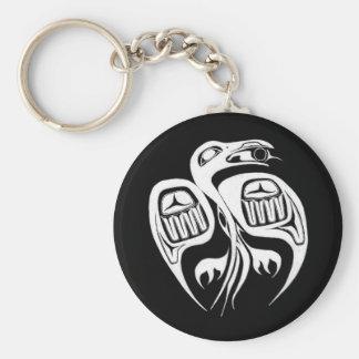 Porte-clés est-ce que corbeau le soleil, ou il vole est la