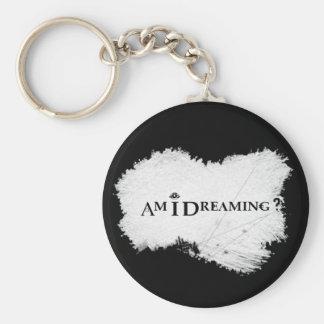 Porte-clés Est-ce que je rêve ? Noir de base de porte - clé