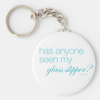 Porte-clés Est-ce que n'importe qui a vu ma pantoufle en