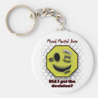Porte-clés Est-ce que sourire de MIXED MARTIAL ART, j'ai
