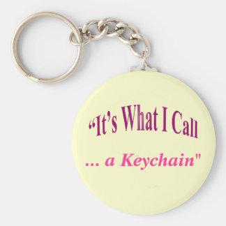 """Porte-clés """"Est il ce que j'appelle… """""""