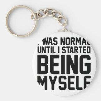 Porte-clés Étant moi-même