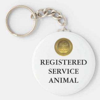 Porte-clés Étiquette ou porte - clé animale enregistrée de