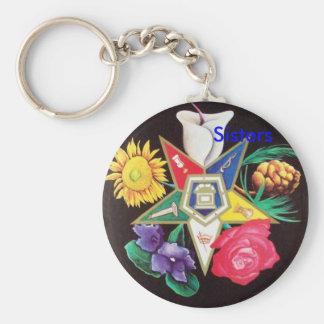 Porte-clés Étoile de floraison d'OES