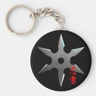 Porte-clés Étoile de lancement de Ninja