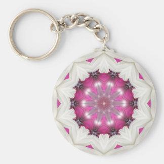 Porte-clés Étoile rose de fantaisie
