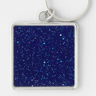 Porte-clés Étoiles bleues 2