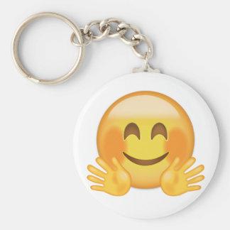 Porte-clés Étreindre le visage Emoji