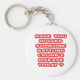 Porte-clés Étreint quelqu'un maladie de Crohn de lutte ?
