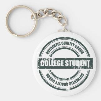 Porte-clés Étudiant universitaire authentique