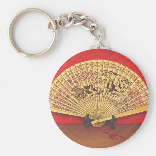 Porte-clés Eventail chinois