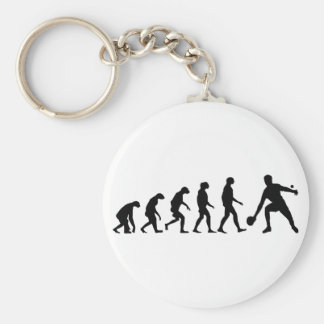 Porte-clés Évolution de ping-pong