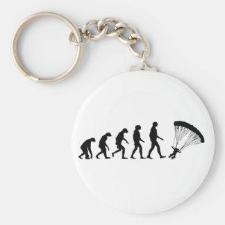 Porte-clés Évolution du parachutage