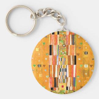 Porte-clés Extrémité de Gustav Klimt du mur