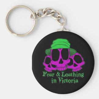 Porte-clés F&L dans le porte - clé de Victoria