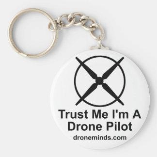 Porte-clés Faites confiance que je je suis un pilote de