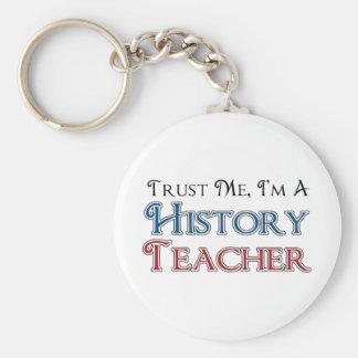 Porte-clés Faites- confiancemoi, je suis un professeur