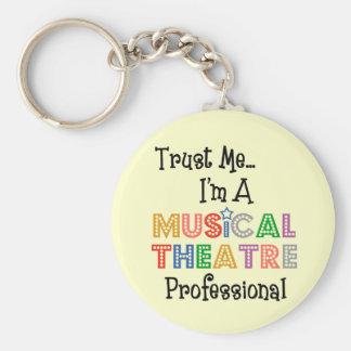 Porte-clés Faites- confiancemoi… pro porte - clé de théâtre