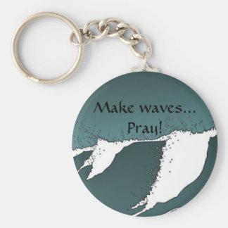 Porte-clés Faites les vagues