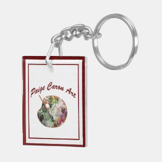 Porte-clés Falaises et porte - clé de lupins