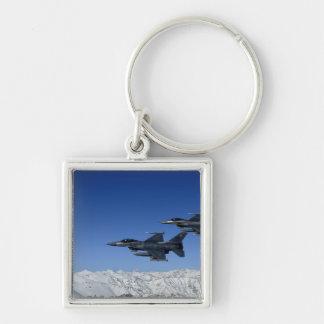 Porte-clés Falcons de combat de F-16 de l'Armée de l'Air
