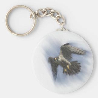 Porte-clés Faucon pérégrin en vol