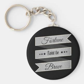 Porte-clés Faveur de fortune le courageux