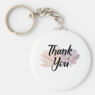 Porte-clés Faveur de Merci florale