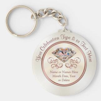 Porte-clés Faveurs ou mariage de fête d'anniversaire