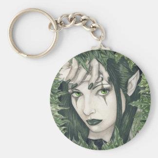 Porte-clés Fée du porte - clé foncé de forêt