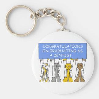 Porte-clés Félicitations sur recevoir un diplôme en tant que