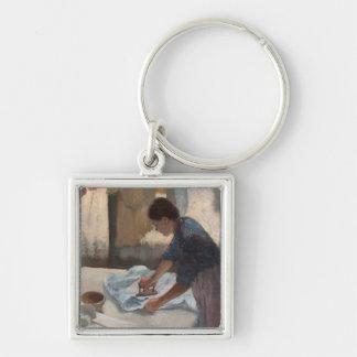 Porte-clés Femme d'Edgar Degas | repassant, c.1876-87