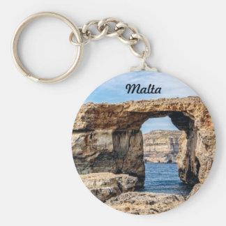 Porte-clés Fenêtre azurée à Malte