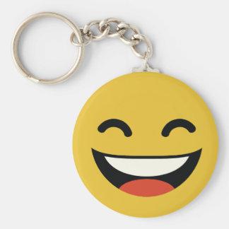 Porte-clés Fermez vos yeux riant l'emoji
