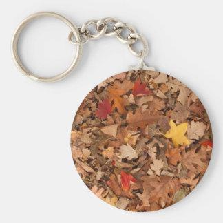 Porte-clés Feuille d'automne