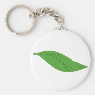 Porte-clés Feuille verte