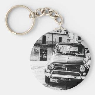 Porte-clés Fiat 500 en rétros cadeaux de voyage de l'Italie
