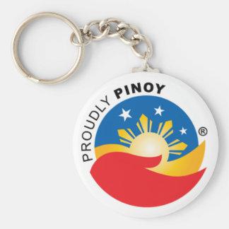 Porte-clés Fièrement porte - clé de fonctionnaire de Pinoy