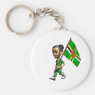 Porte-clés Fille dominicaine
