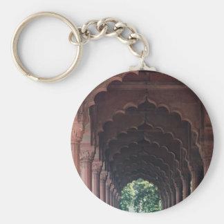 Porte-clés Fille indienne à Diwan-je-Engin Air-Air, fort
