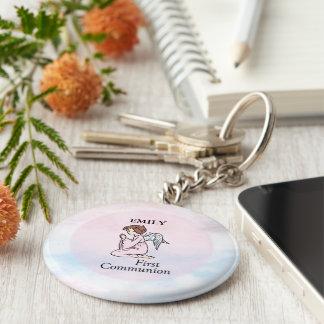Porte-clés Fille, premier ange de communion