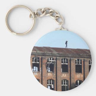 Porte-clés Fille sur le toit 02,2, endroits perdus