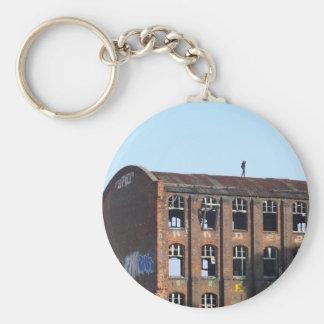 Porte-clés Fille sur le toit - endroits perdus