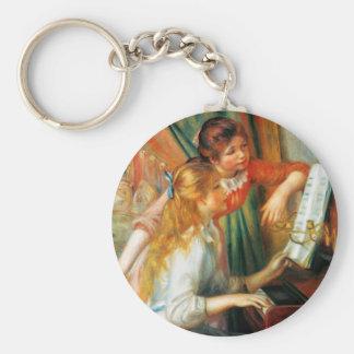 Porte-clés Filles de Renoir au porte - clé de piano