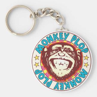 Porte-clés Flac de singe