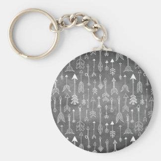 Porte-clés Flèche de tableau (noir)