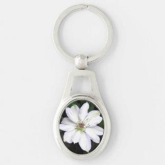 Porte-clés Fleur blanche de Hosta