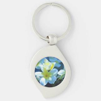 Porte-clés fleur de plumeria