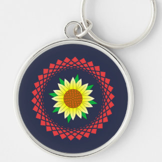 Porte-clés Fleur de Sun