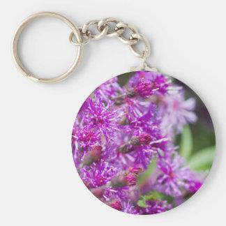 Porte-clés Fleurs sauvages grands d'herbe de Saint-Jacques